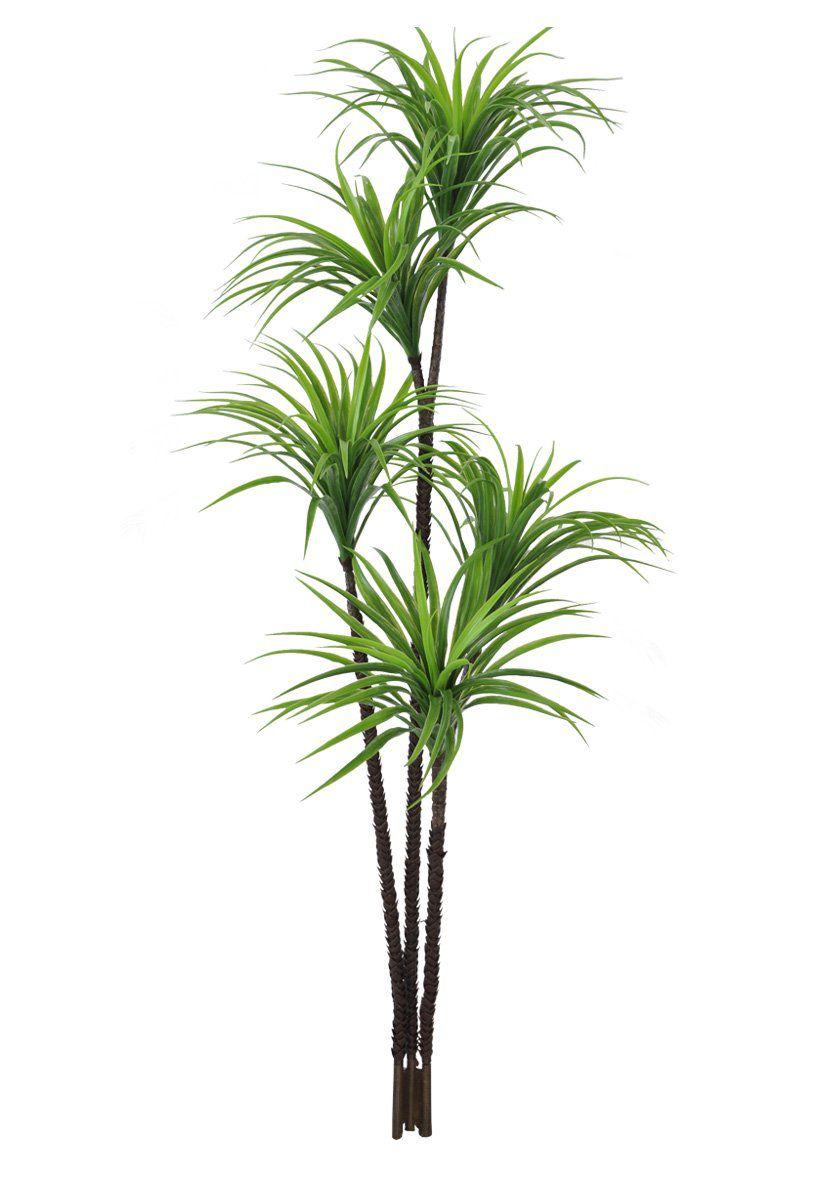 Árvore Yucca artificial X212 verde 1,6m 24562001