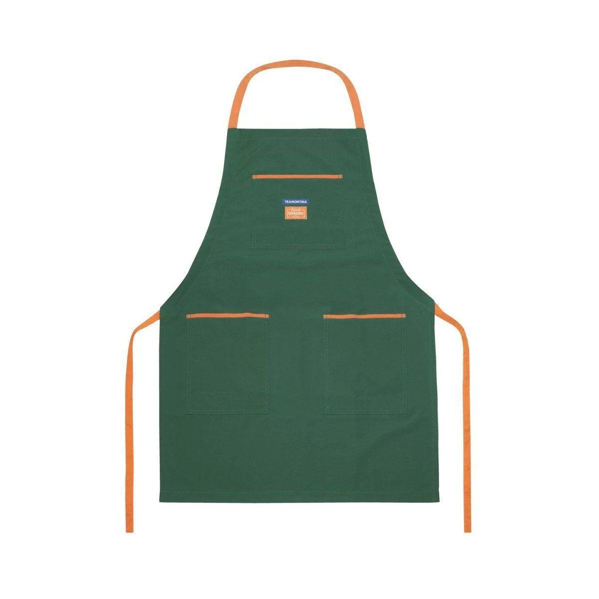 Avental para Jardinagem em Tecido Poliéster Verde - Tramontina