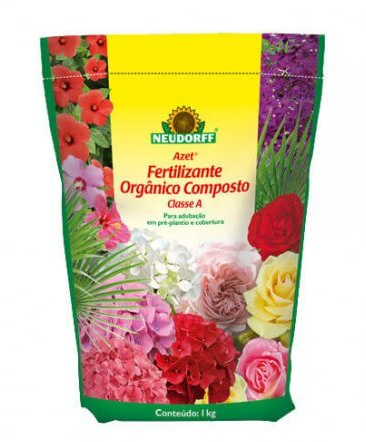 Azet Fertilizante Orgânico Composto Classe A 1kg - Neudorff