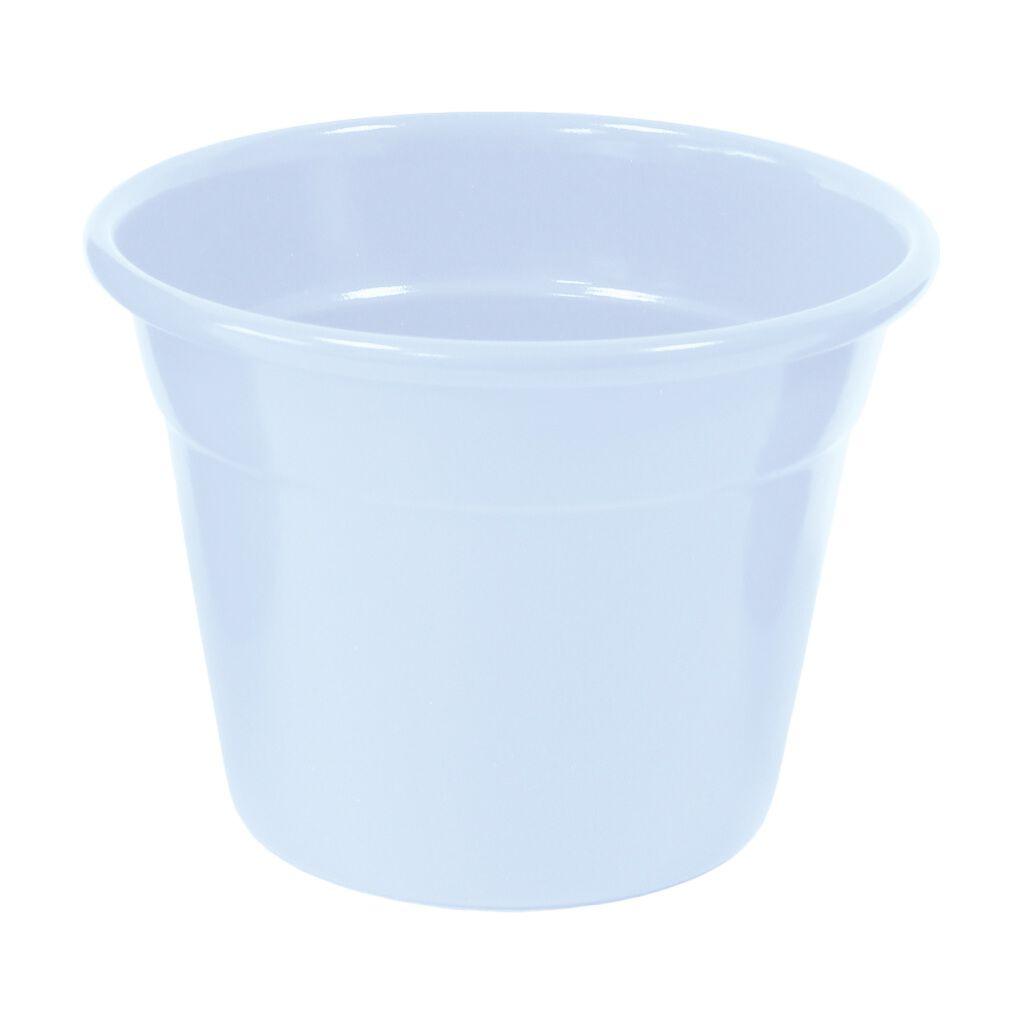 Cachepô de Alumínio Soleil N° 06 Branco 6cm x 7,5cm