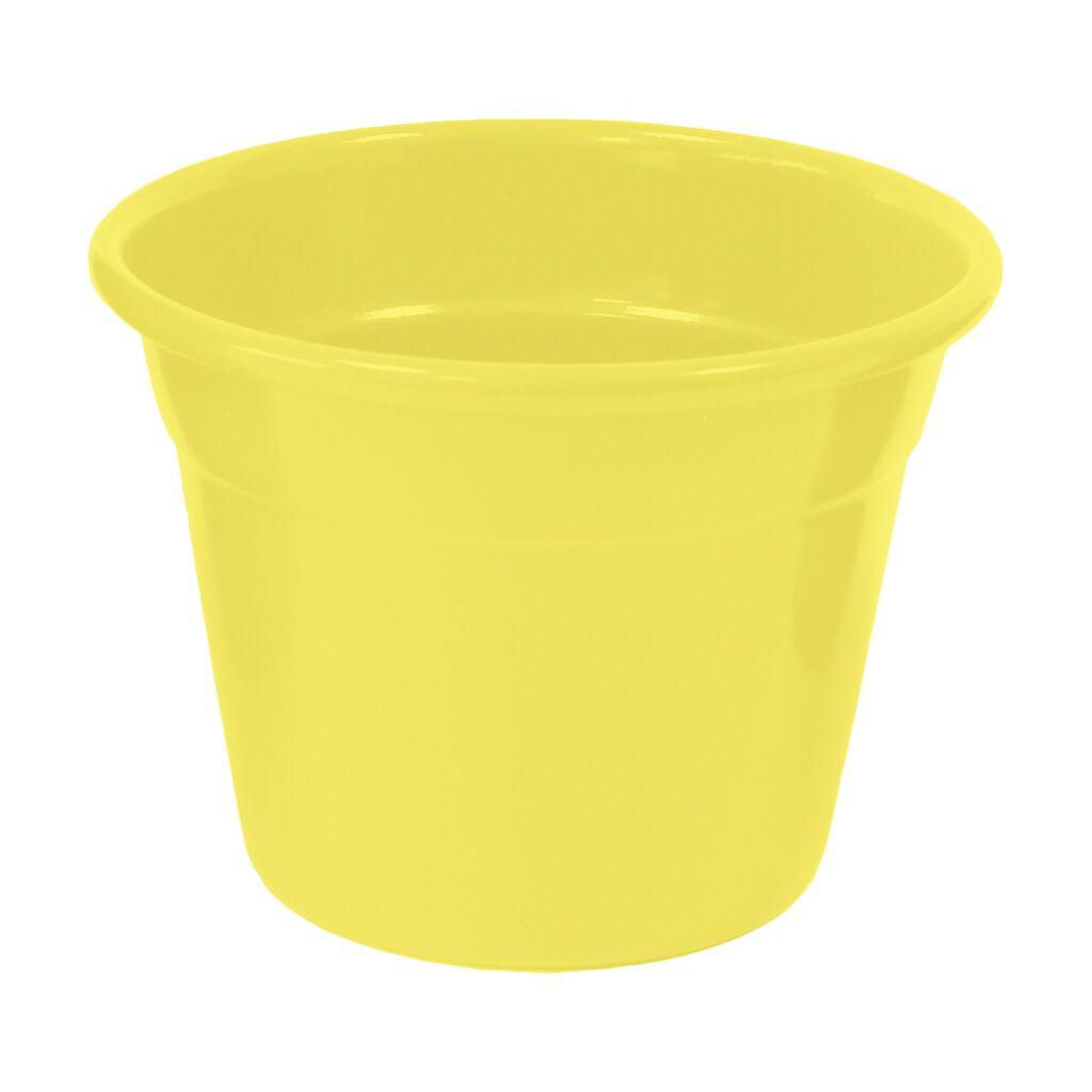 Cachepô de Alumínio Soleil N° 11 Amarelo 9cm x 12cm