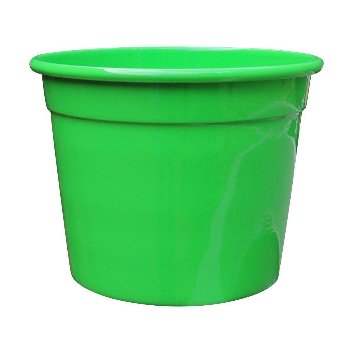 Cachepô de Alumínio Soleil N° 15 Verde 12cm x 15,5cm