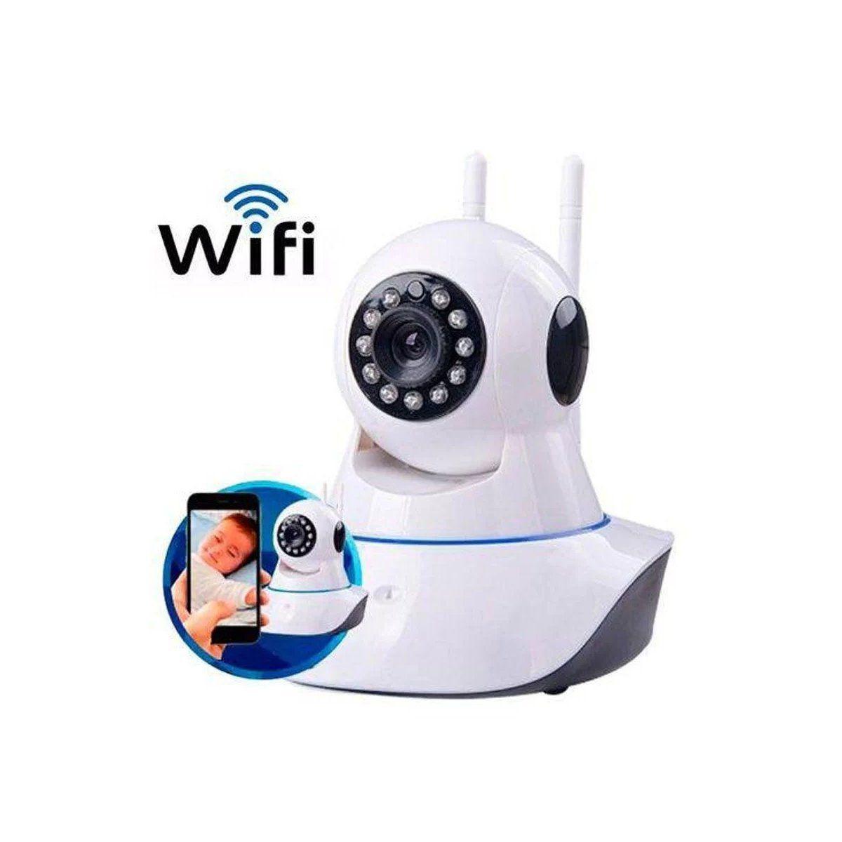 Câmera IP Giratória 360º Wireless