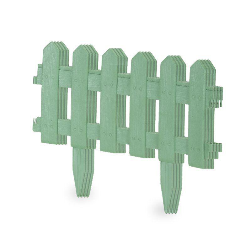 Cerca Decorativa Kit com 4 peças Verde