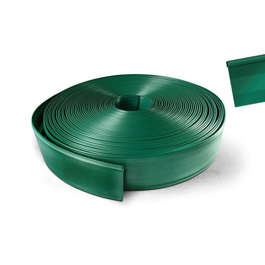 Limitador de solo com borda oval 1 metro - verde