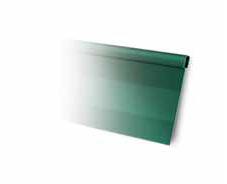Divisor de solo com borda oval 1 metro - verde