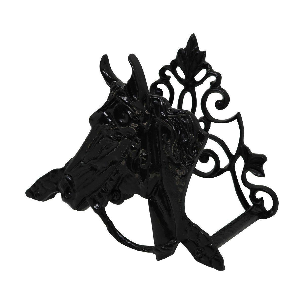 Enrolador de Mangueira em Alumínio Fundido Cavalo Preto