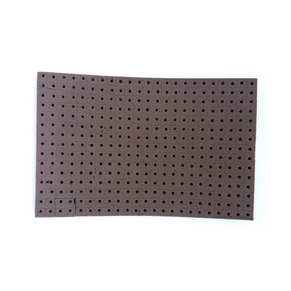 Espuma Fenólica 2x2x2 com furo para Rúcula caixa com 30 placas - OASIS GROWER