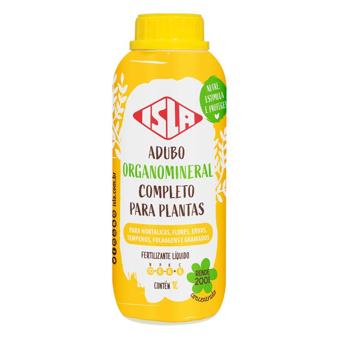 Fertilizante Fertigarden Multiuso 1 litro concentrado para todos os tipos de plantas Isla
