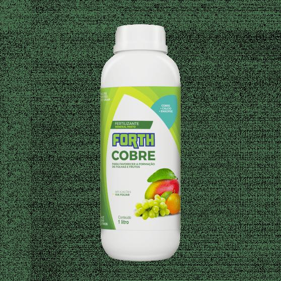 Fertilizante Foliar Forth Cobre 1 litro Concentrado