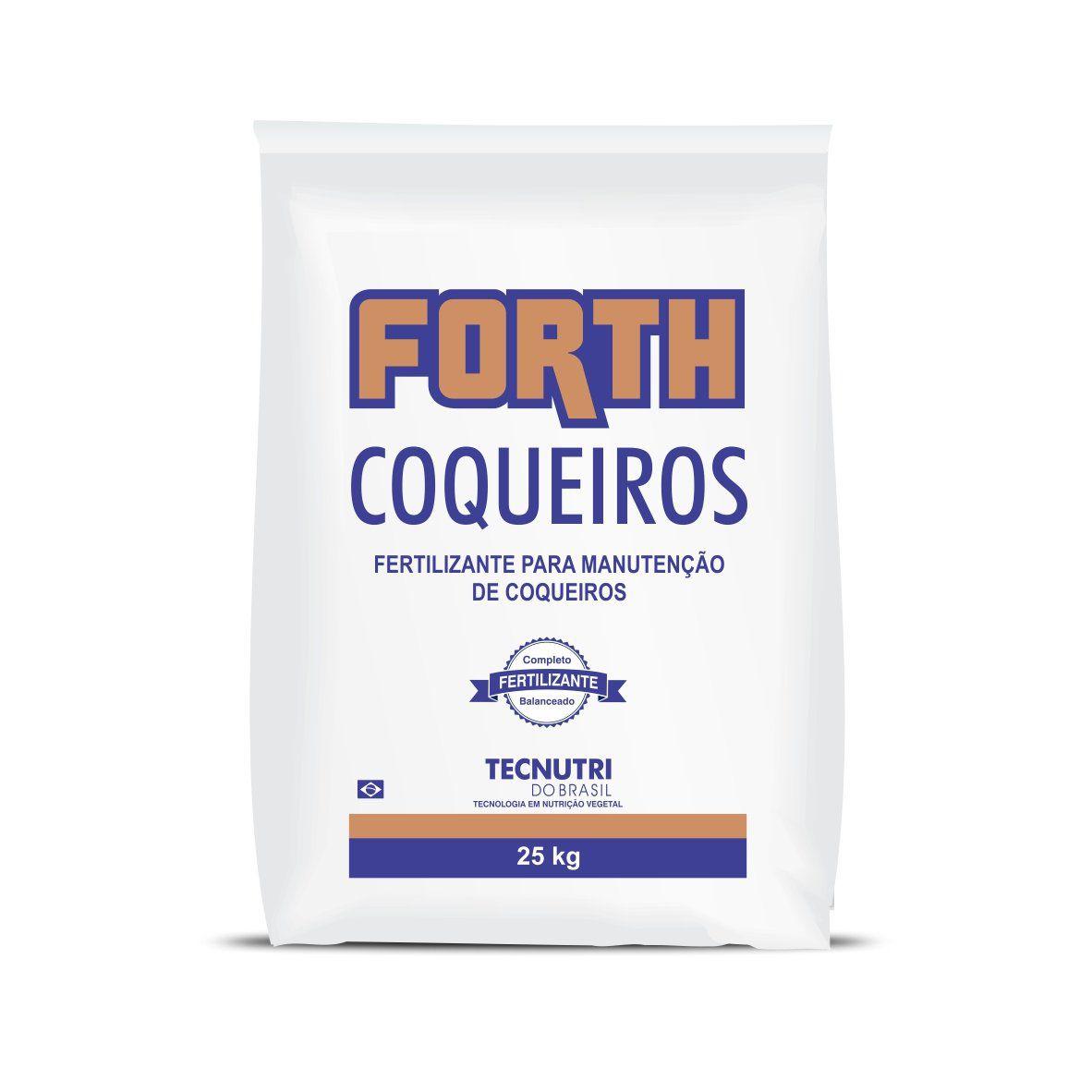 Fertilizante Forth Coqueiros 25 kg