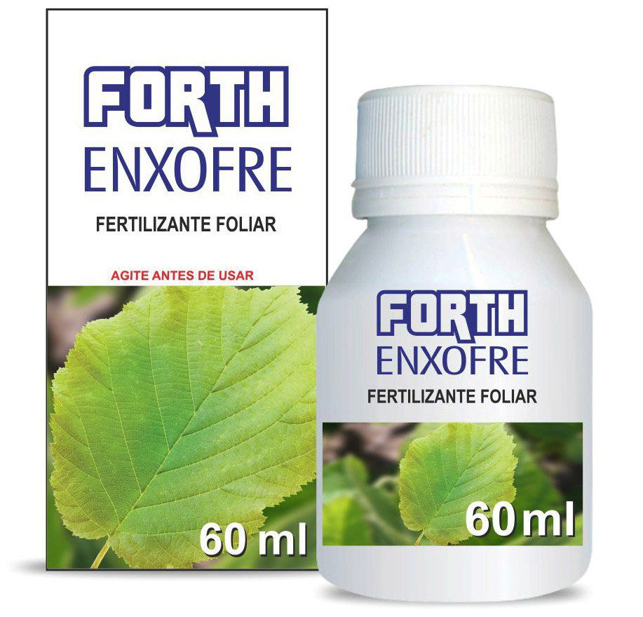 Fertilizante Forth Enxofre concentrado 60 ml