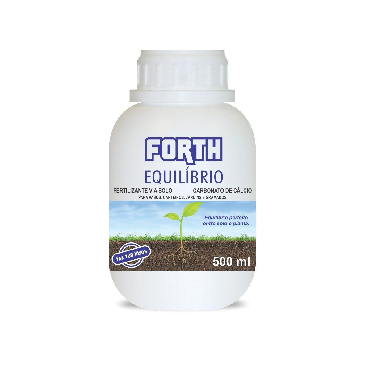 Fertilizante via solo Forth Equilíbrio 500ml concentrado (Carbonato de Cálcio)