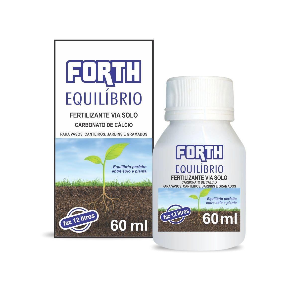 Fertilizante via solo Forth Equilíbrio 60ml concentrado (Carbonato de Cálcio)