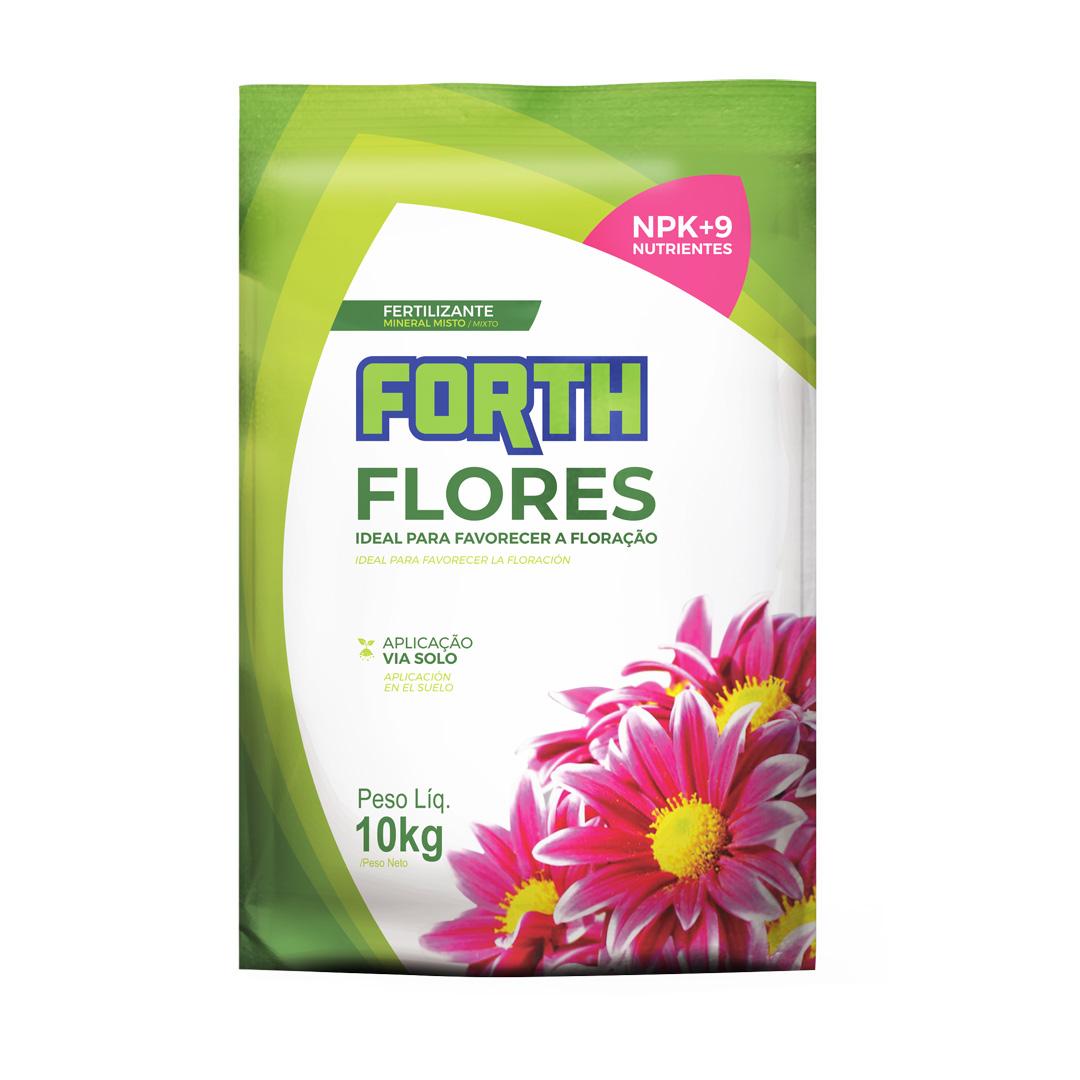 Fertilizante Forth Flores 10kg para Coloração e Floração