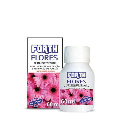 Fertilizante Forth Flores Líquido Concentrado 60ml