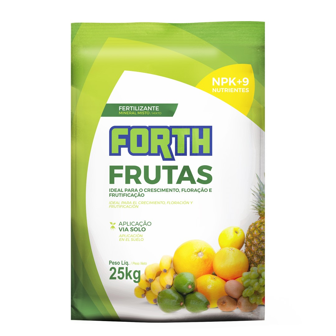 Fertilizante Forth Frutas 25kg