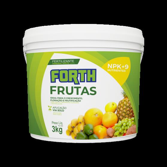 Fertilizante Mineral Misto Forth Frutas 3kg