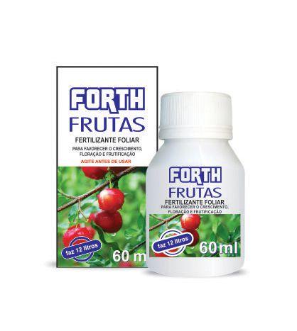 Fertilizante Forth Frutas líquido concentrado 60ml