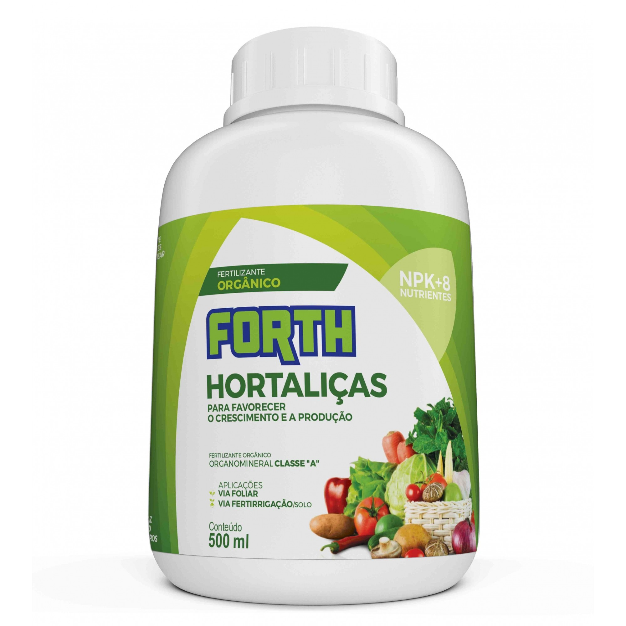 Fertilizante Forth Hortaliças 500ml concentrado