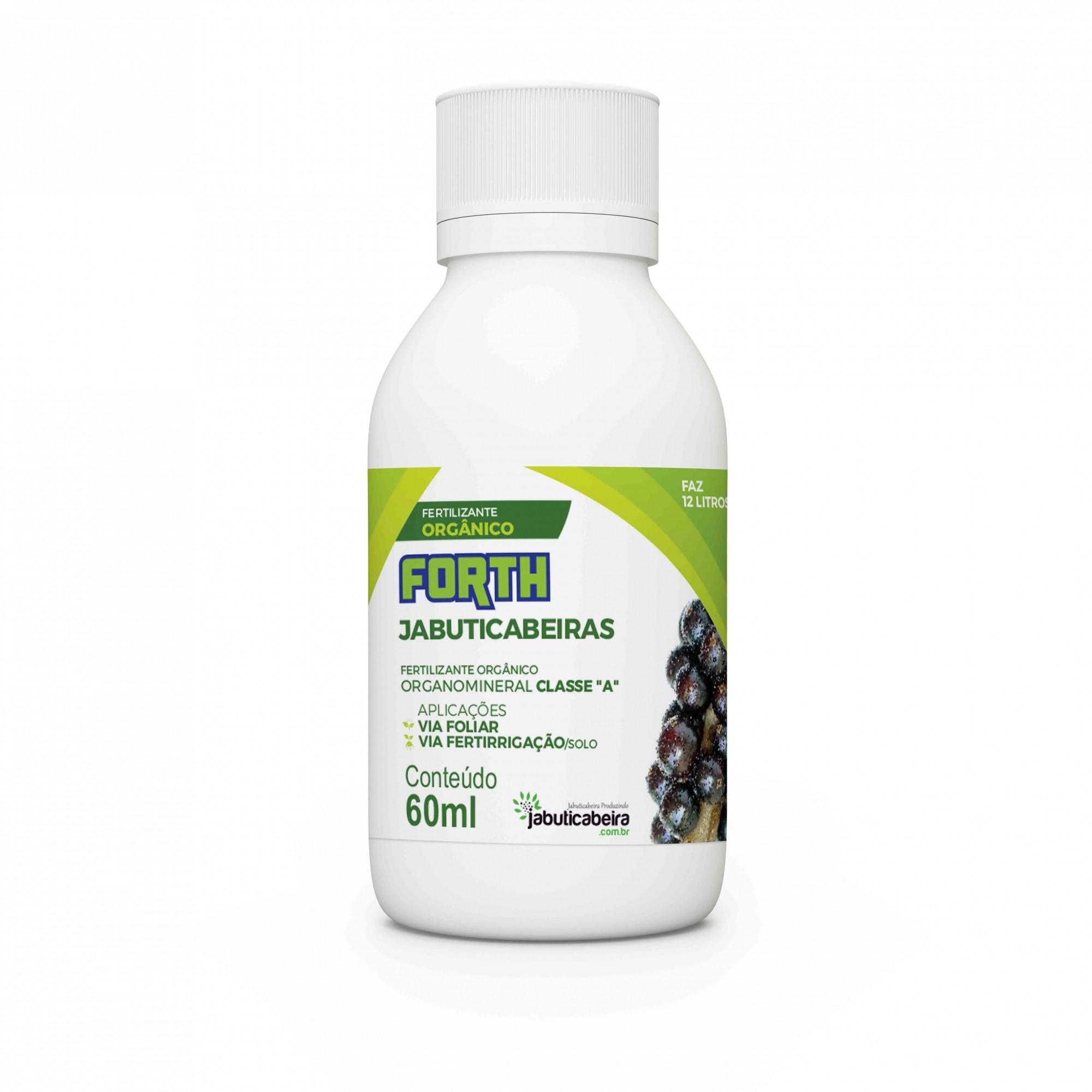 Fertilizante Forth Jabuticabeiras 60ml Concentrado