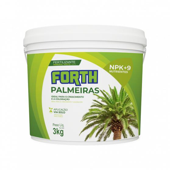 Fertilizante Mineral Misto Forth Palmeiras 3kg
