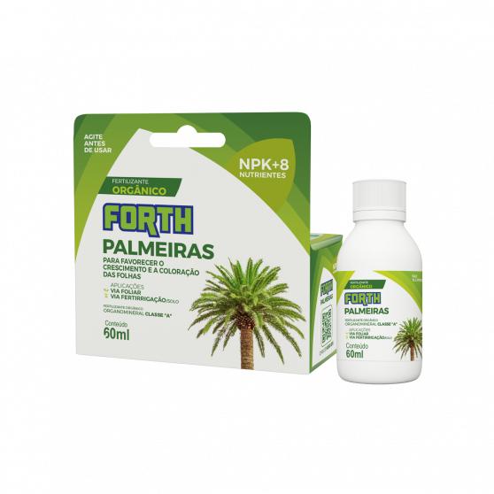 Fertilizante Forth Palmeiras Líquido 60ml Concentrado