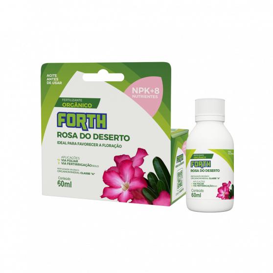 Fertilizante Forth Rosa do Deserto 60ml Concentrado