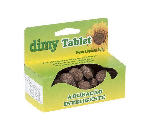 Fertilizante Mineral Misto Dimy Tablet 50g