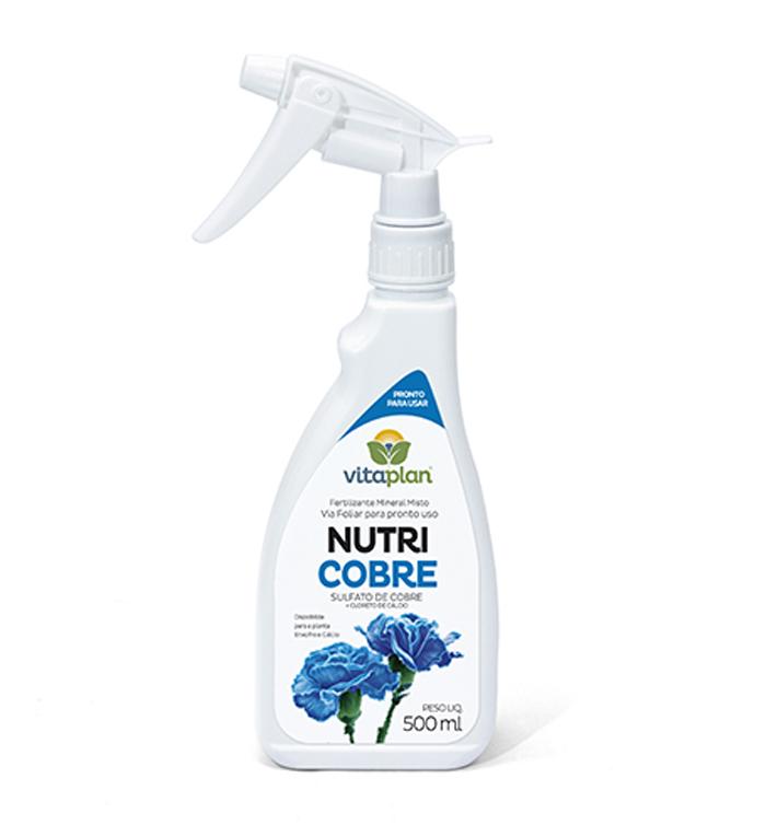 Fertilizante Mineral Misto Nutricobre 500ml Pronto para Uso Vitaplan