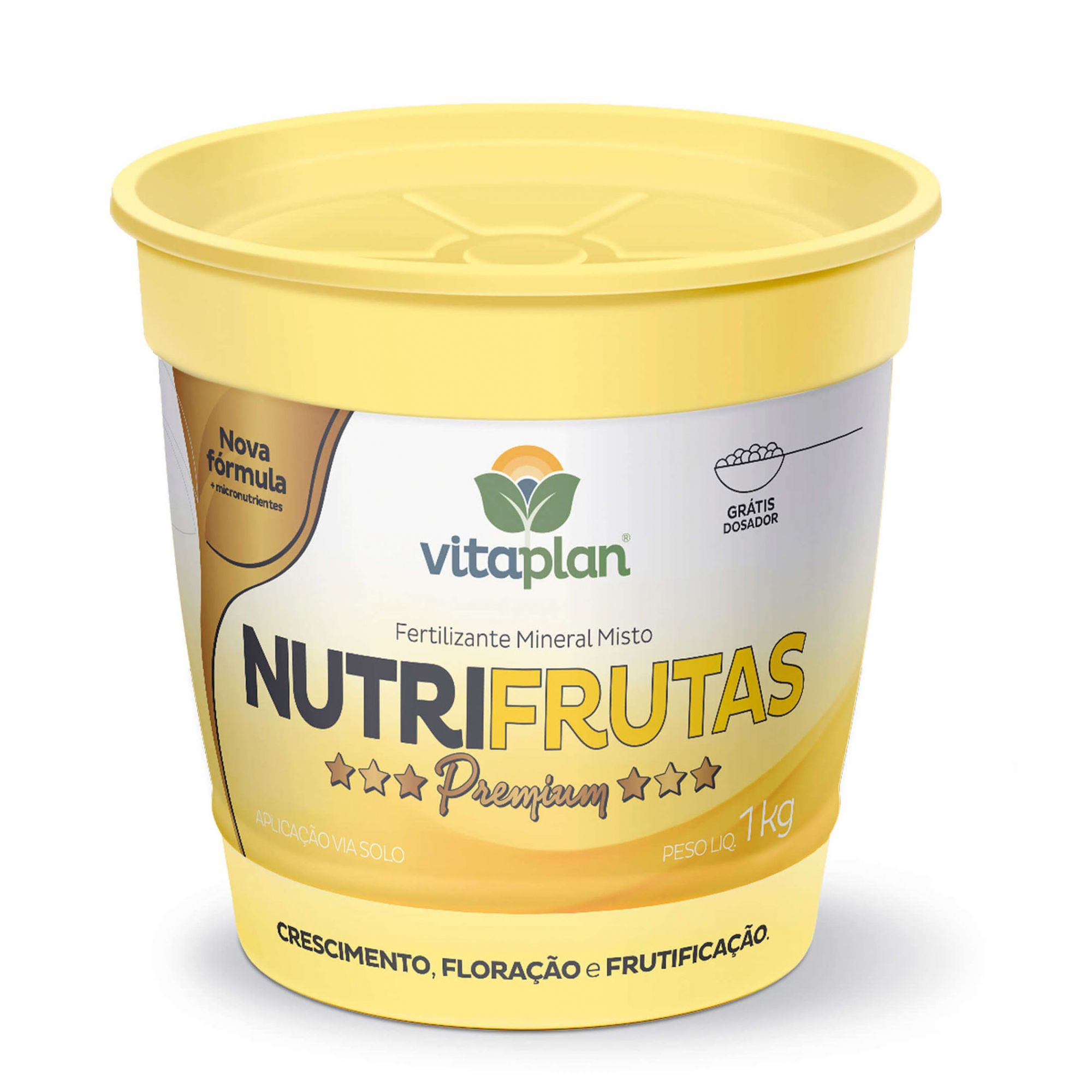Fertilizante Mineral Misto Nutrifrutas 1kg - Vitaplan Premium