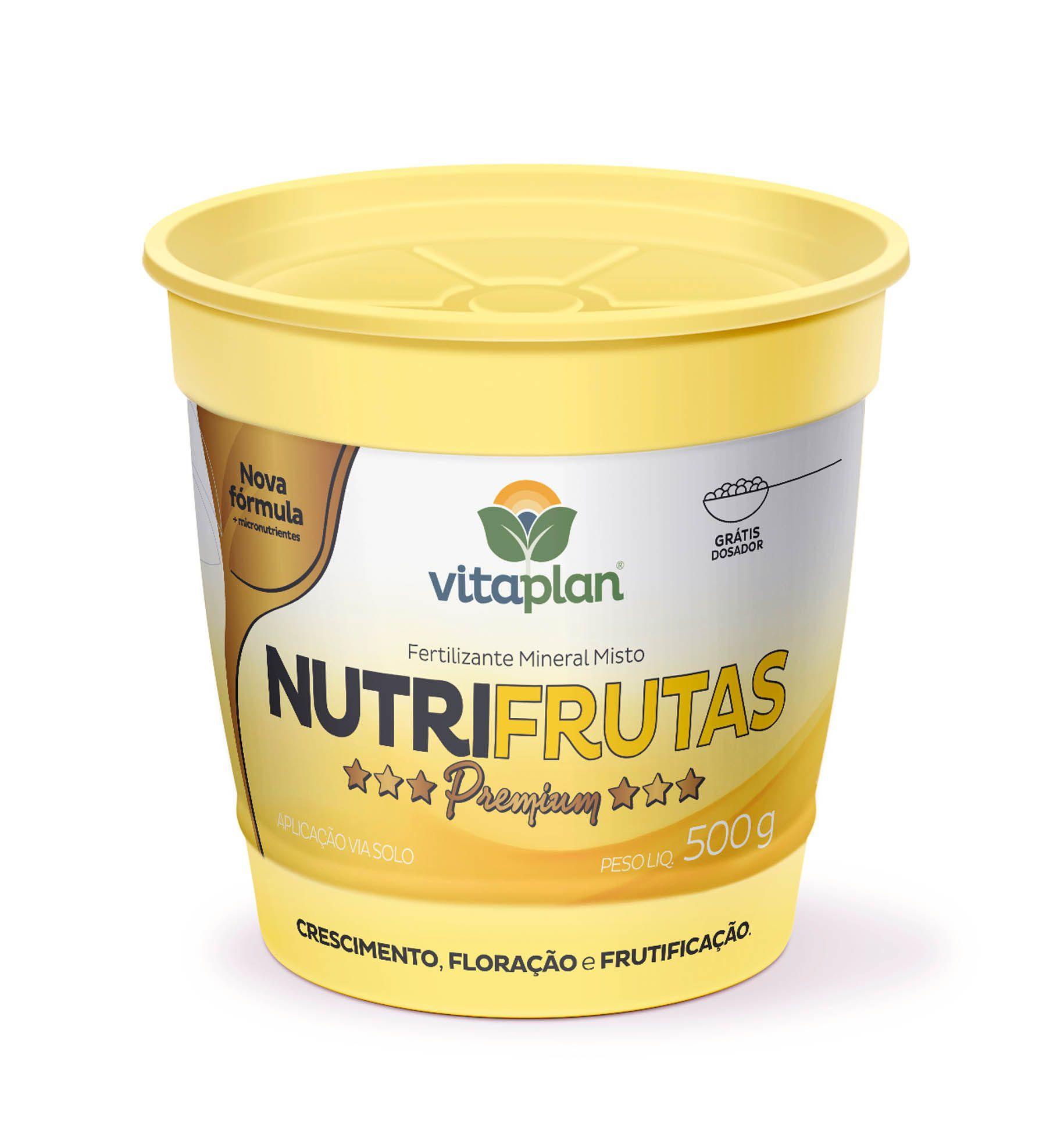 Fertilizante Mineral Misto Nutrifrutas 500g - Vitaplan Premium