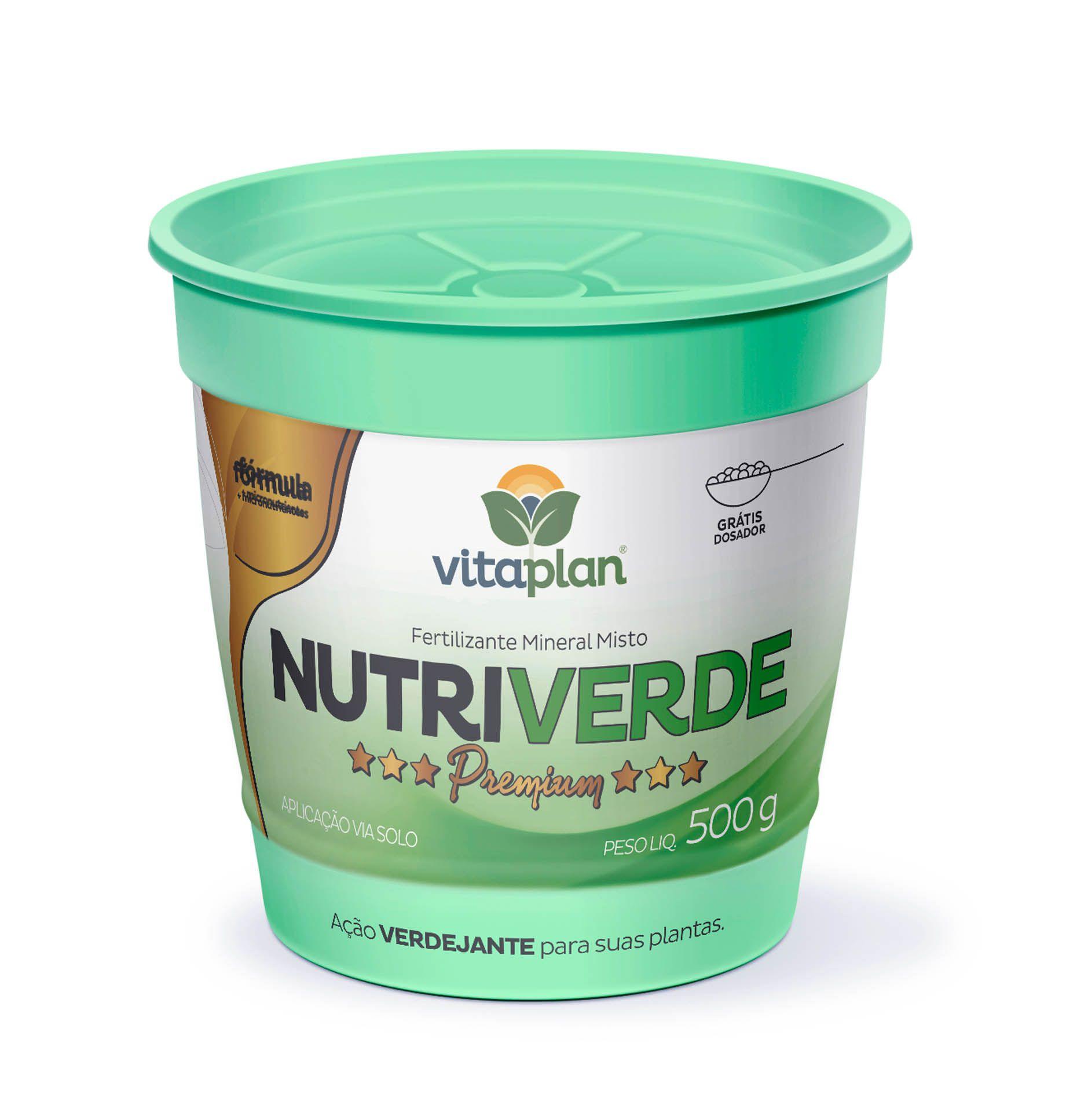 Fertilizante Mineral Misto Nutriverde 500g - Vitaplan Premium