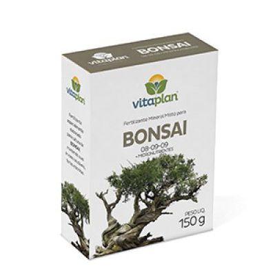 Fertilizante Mineral Misto para Bonsai 08-09-09 150g Vitaplan