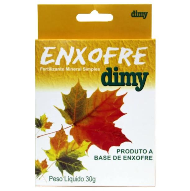 Fertilizante Mineral Misto Simples Enxofre Dimy 30g
