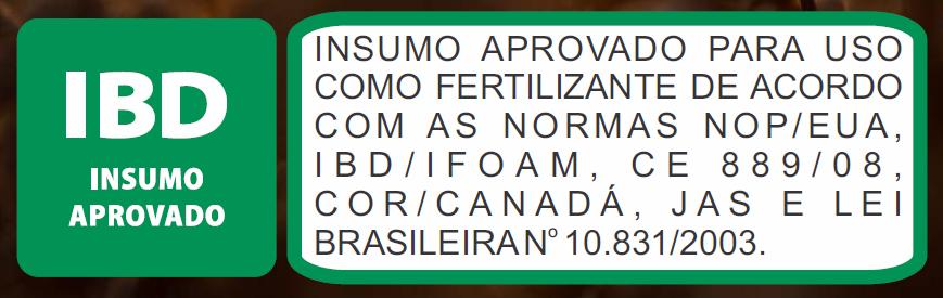Fertilizante Orgânico Classe A (via foliar) 1 litro Ferti-Peixe com certificação IBD