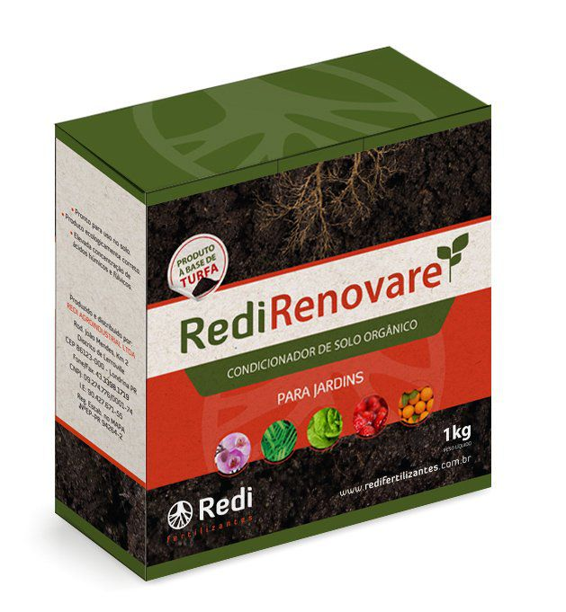 Fertilizante Orgânico Simples 1kg RediRenovare