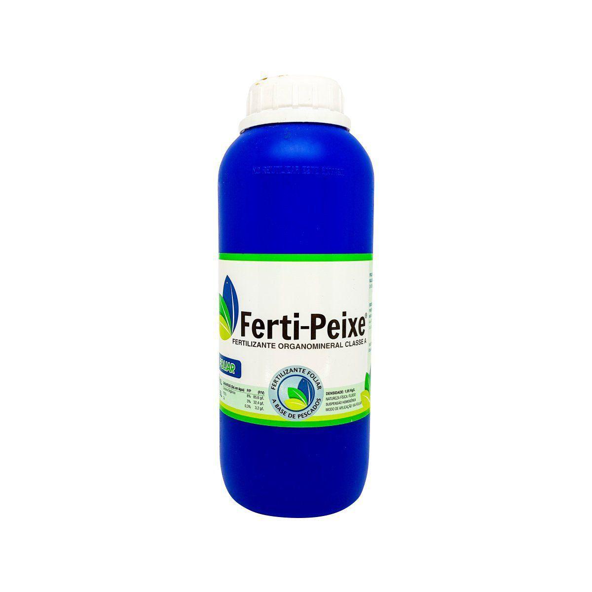 Fertilizante Orgânico Classe A (via foliar) 1 litro - Ferti-Peixe