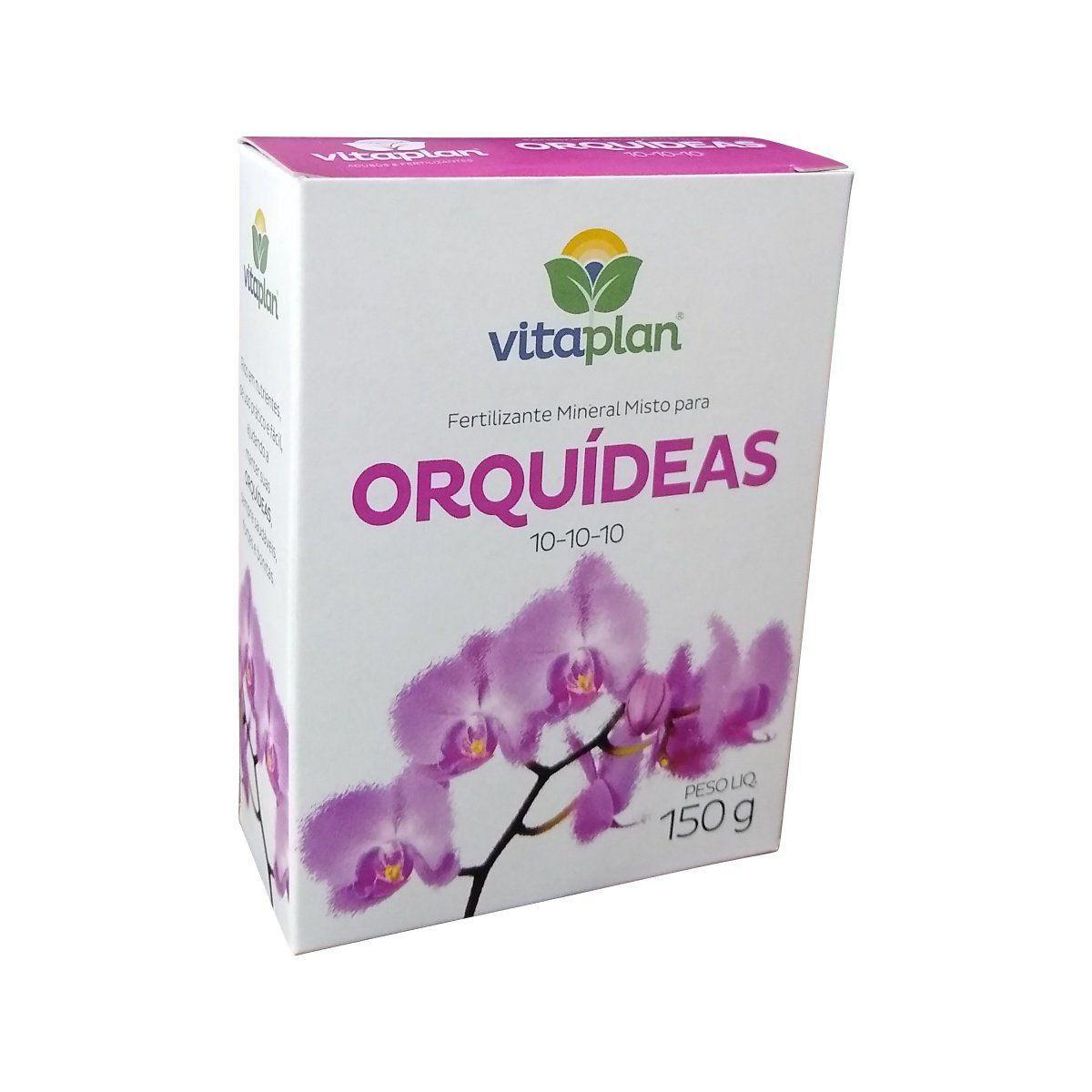 Fertilizante Orquídeas 10-10-10 150g Vitaplan