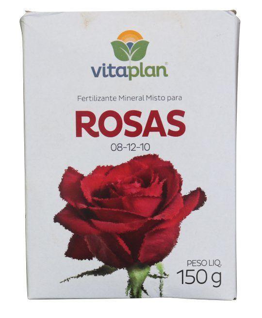 Fertilizante Rosas 08-12-10 150g Vitaplan