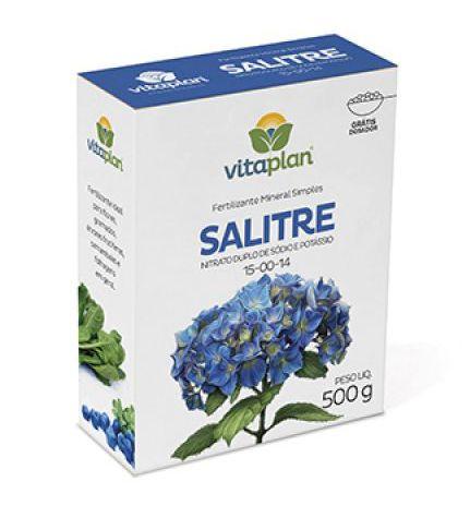 Fertilizante Salitre 15-00-14 500g - Vitaplan