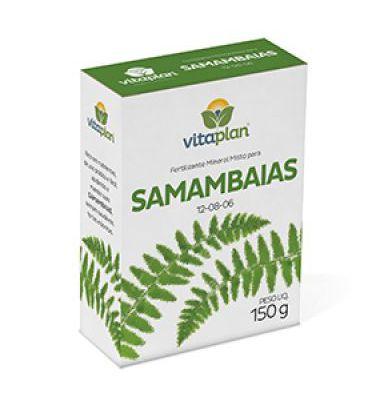 Fertilizante Samambaias 12-08-06 150g Vitaplan
