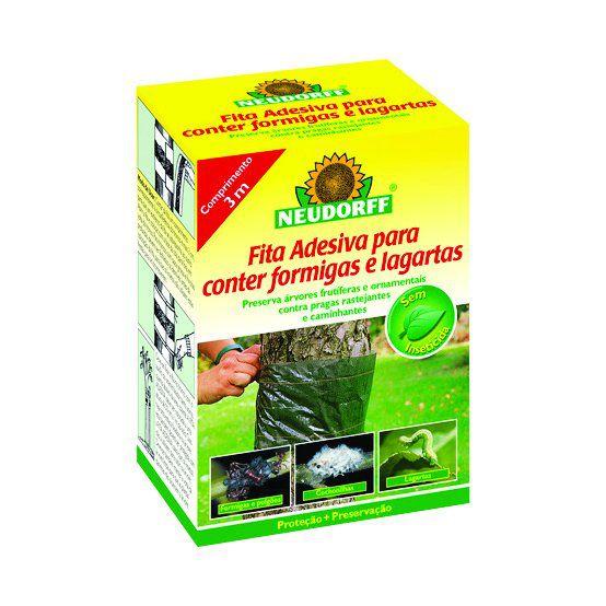 Fita Adesiva Repelente para Formigas e Lagartas 3m