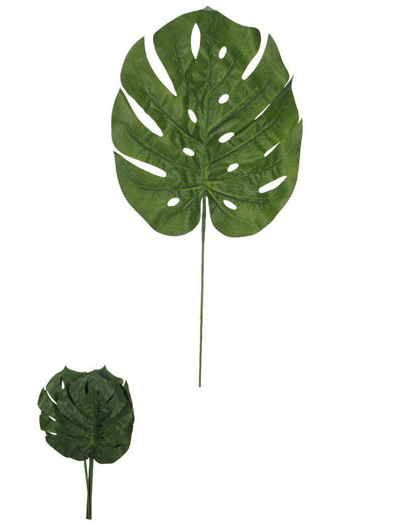 Folha Costela de Adão artificial Verde 70cm - 28714001