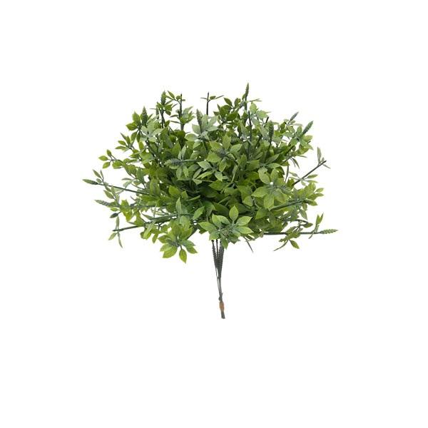 Folha de Ipê Pick Artificial X6 Verde 28cm