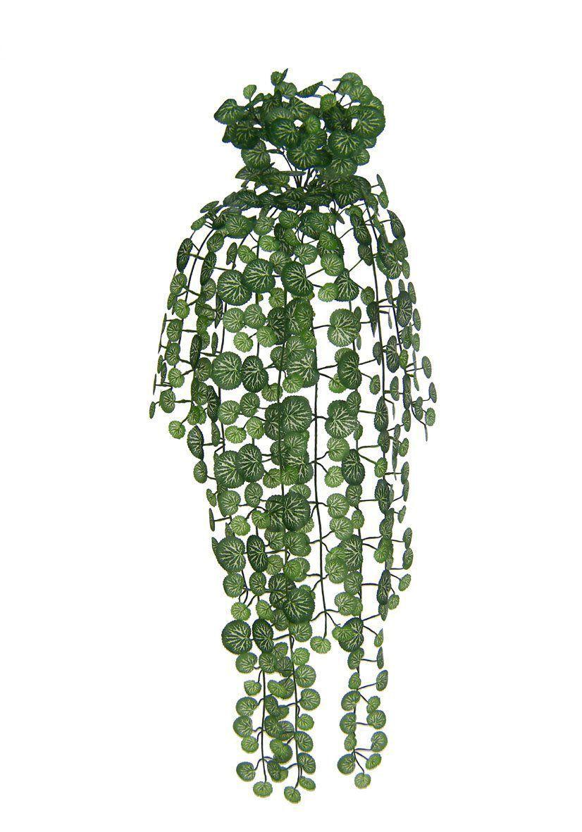 Folhagem artificial Gerânio de Pendurar X408 (Verde Creme) 91cm - 01299005