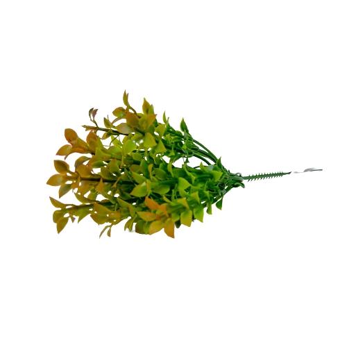 Folhagem artificial Pick Grass com Print PLT X5 Verde 23cm - 42604001