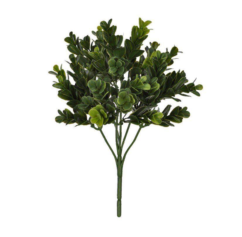 Folhagem Boxwood artificial PLT X36 Verde 25cm Buxinho 25705001
