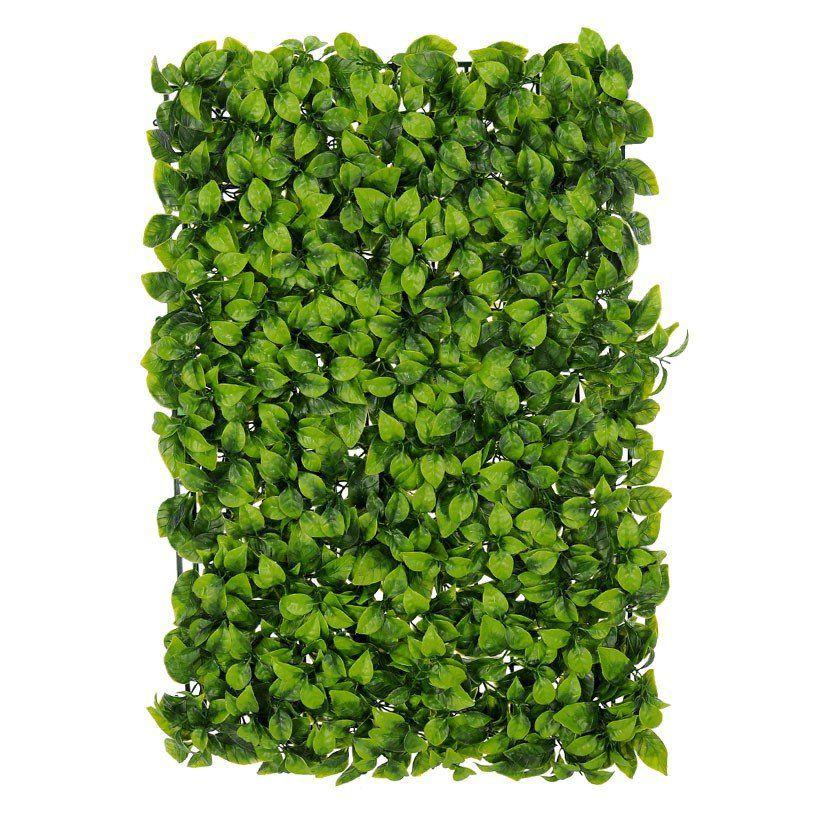 Folhagem Grama Folha artificial PLT Verde 40 x 60 cm - 34810001