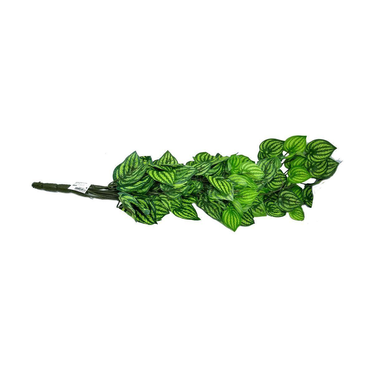 Folhagem Melancia artificial para Pendurar X408 Verde e Creme 91cm - 01299004